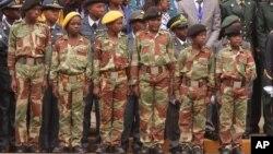 Дети-солдаты. Зимбабве. 20 июня 2015 г.