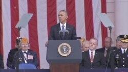 Obama: We Owe Veterans Our Debt, Gratitude
