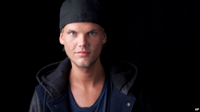 Swedish DJ, remixer and record producer Avicii poses for a portrait, Aug. 30, 2013, in New York.