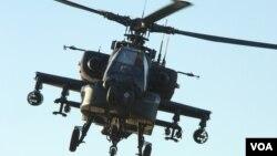 阿帕奇軍用直升機(國防部網頁圖片)