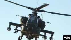 阿帕奇武裝直升機(資料照片)