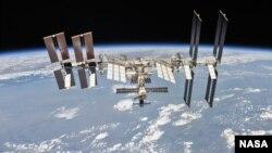 資料照片: 國際太空站