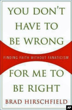 """Hirschfield's popular and accessible book """"You Don't Have to Be Wrong for Me to Be Right"""" is a both a memoir and an exhortation for inclusiveness in today's ideologically divided and often violent world"""