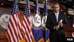 Por su parte, el presidente de la Cámara de Representantes, John Boehner, envió una crítica carta al presidente Barack Obama.