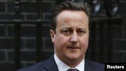 英國首相卡梅倫 (資料照片)