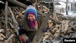 Ukraina sharqi. 10-fevral, 2015.