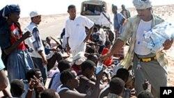 یمن میں ریکارڈ تعداد میں پناہ گزینوں کی آمد