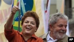 Dilma Roussef vai a segunda volta com Jose Serra na disputa pela cadeira presidencial