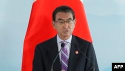 Taro Kono, ministre japonais des Affaires étrangères.