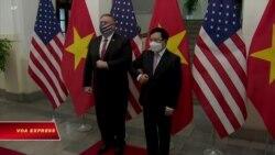 Ngoại trưởng Mỹ kết thúc chuyến công du 'chống Trung Quốc' tại Việt Nam