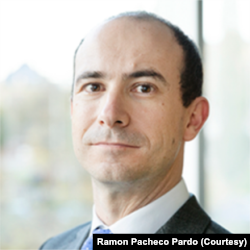 伦敦国王学院国际关系学副教授雷蒙∙帕切科∙帕尔多 (照片由本人提供)