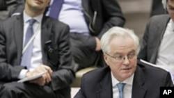 Vitali Tchourkine dit avoir fourni à l'ONU des documents montrant que les rebelles syriens ont utilisé des armes chimiques
