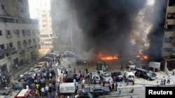 Car Bomb Explodes in Hezbollah Stronghold in Lebanon
