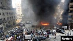 Hizbullahın nəzarəti altında olan bölgədə bomba hücumu olub