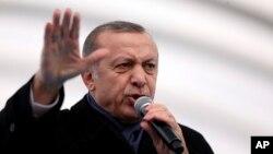 Turkiya rahbari Rajab Toyyib Erdo'g'an