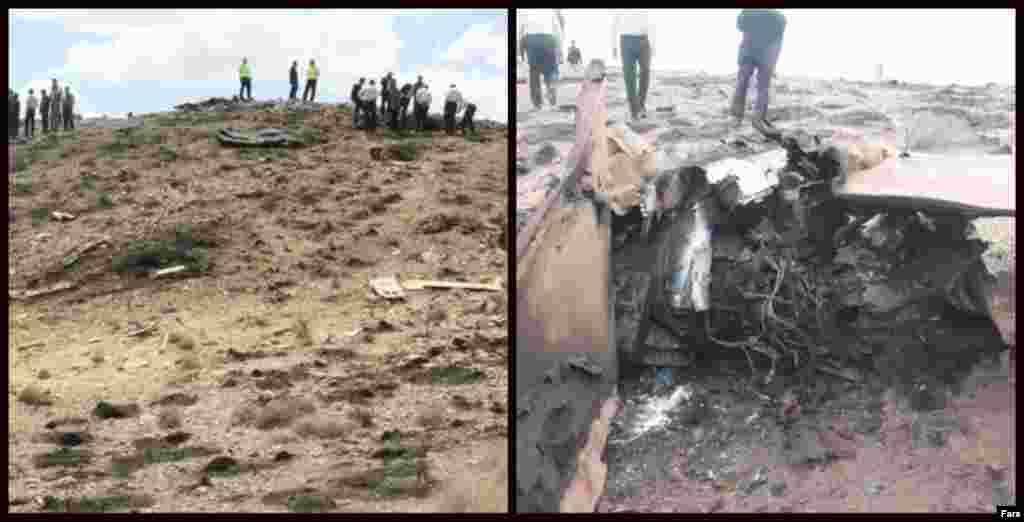 """یک جنگنده نیروی هوایی ارتش ایران در استان اصفهان سقوط کرد. رسانههای ایران از سقوط یک فروند هواپیمای اف-۷ نیروی هوایی ارتش در حوالی شهرستان نائین خبر داد و گفت هواپیما بر اثر برخورد با کوه منهدم شد. دو سرنشین این """"پرواز آموزشی"""" پیش از وقوع حادثه به بیرون پریده و نجات پیدا کردند."""