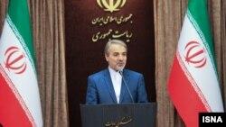 محمدباقر نوبخت سخنگوی دولت ایران - آرشیو