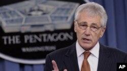 Chuck Hagel dijo que EE.UU. seguirá revisando qué ayuda adicional puede enviar a Ucrania.