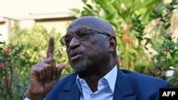 Jacques Anouma en entretien, Côte d'Ivoire, le 2 mars 2021.