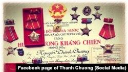 """Họa sĩ Thành Chương tự hỏi có nên vứt bỏ các huân chương, huy chương thời """"chiến tranh chống Mỹ"""""""