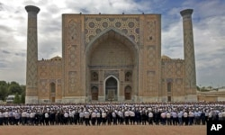 Prezidentning janozasi, Samarqand, 3-sentabr, 2016