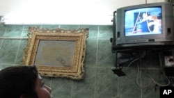 伊拉克電視2006年12月30日播放薩達爾侯塞因受絞索刑的畫面。(資料照片)