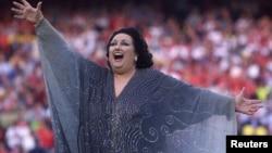 Operska pevačica Monserat Kabalje