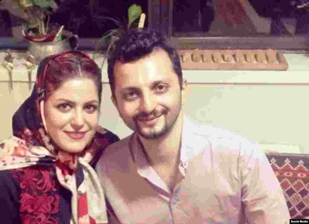 علی شریعتی و همسرش. کاربران با هشتگ @saveali امروز ترند اول توئیتر شدند. او به اسیدپاشی ها اعتراض بود اما بازداشت و زندانی شد.