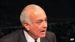 Le secrétaire général de la Ligue arabe Nabil Elaraby (Archives)