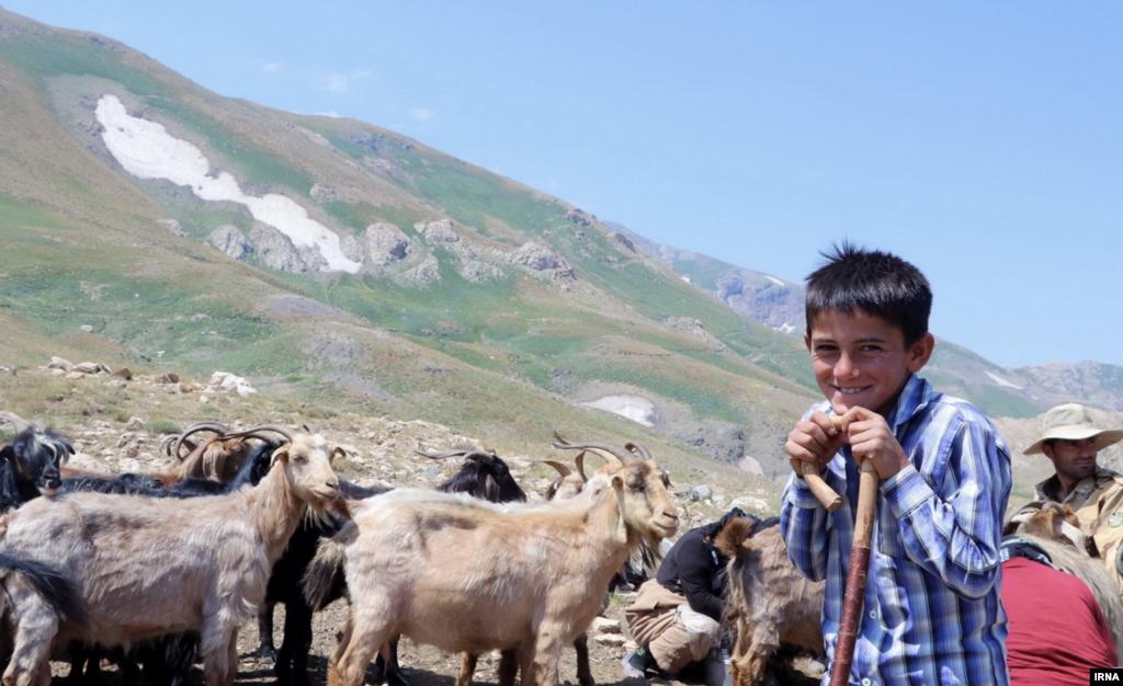 عشایر منطقه مرزی دالامپر در ارومیه عکس: طاها اصغرخانی