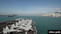 美军4舰访香港,回顾近年来美舰访华(36图)