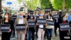 HDP di protesyek li Ankara,
