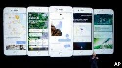 APTOPIX Apple Event new iPhone 7