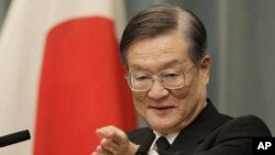 日本防衛大臣森本敏