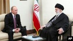 این دومین سفر پوتین به تهران می باشد.