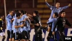 Uruguay no ha competido en el fútbol olímpico desde que ganara medallas de oro en 1924 y en 1928.