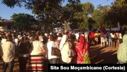 Moçambique - Marcha pela paz em Cabo Delgado