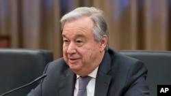 រូបឯកសារ៖អគ្គលេខាធិការអង្គការសហប្រជាជាតិលោក António Gutteres