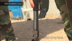 Female Peshmerga Soldier: 'To The Last Drop of Blood'