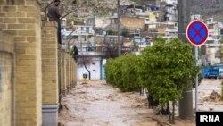 عکسی از سیل اخیر در شیراز