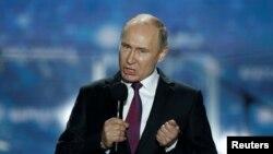 Vladimir Putin, perezida w'Uburusiya