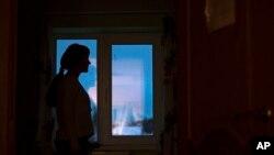 Snimak žene žrtve porodičnog nasilja (Foto: AP)