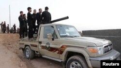 کرد پیش مرگہ جنگجو (فائل)