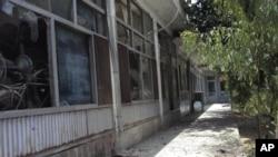 폭발이 일어난 칸다하르 시청