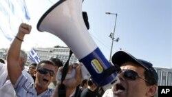 Από την διαμαρτυρία των οδηγών ταξί