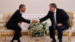 اوباما : لهستان الگوی دمکراسی است