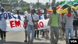 Marcha, Moçambique (Foto SAPO)