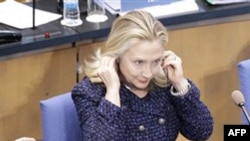 Хиллари Клинтон в Бонне