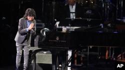 Joey Alexander saat tampil di acara Grammy Awards ke-58 di Los Angeles, California, Februari 2016. (Matt Sayles/Invision/AP)