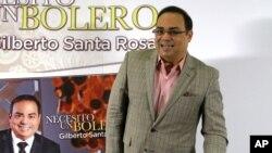 """""""Necesito un Bolero"""" es la más reciente producción del puertorriqueño Gilberto Santa Rosa."""